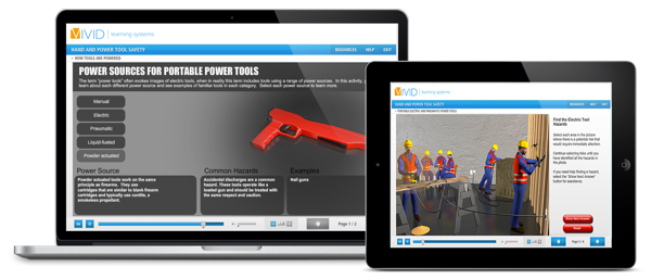 Hand and Power Tool Online Safety Training