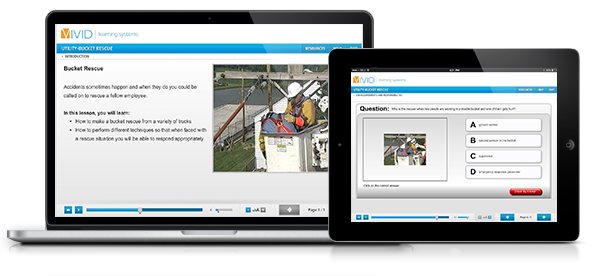 Bucket Rescue Online Safety Training for Electric Utilities
