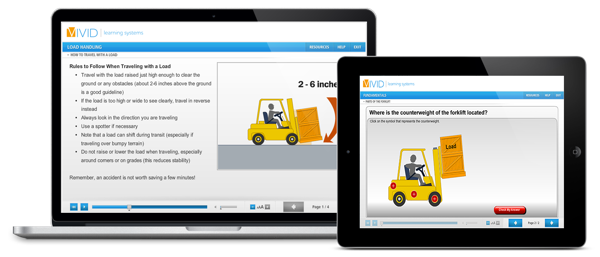 Forklift Online Safety Training