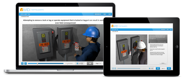 Lock and Tagout Online Safety Training