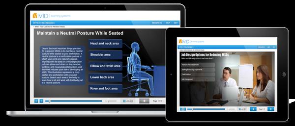 Office Ergonomics Online Safety Training