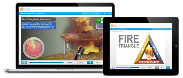 Portable Fire Extinguisher Online Safety Training