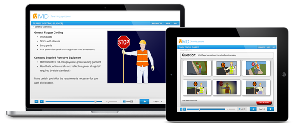Traffic Control Flagger Online Safety Training
