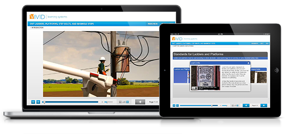 Ladders, Platforms, Step Bolts, and Manholes for Electric Utilities Online Safety Training
